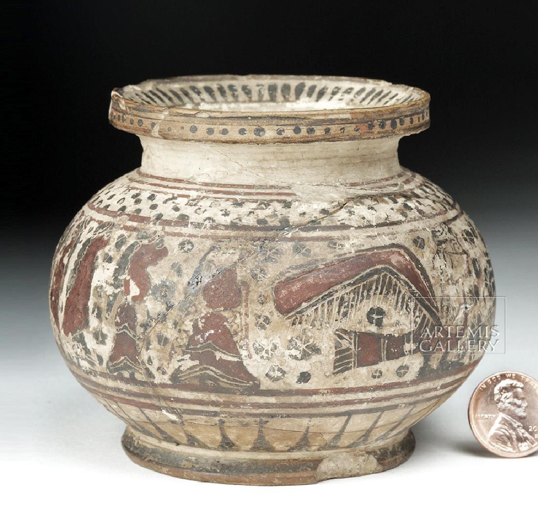 Greek Corinthian Pottery Vase - ex Christie's