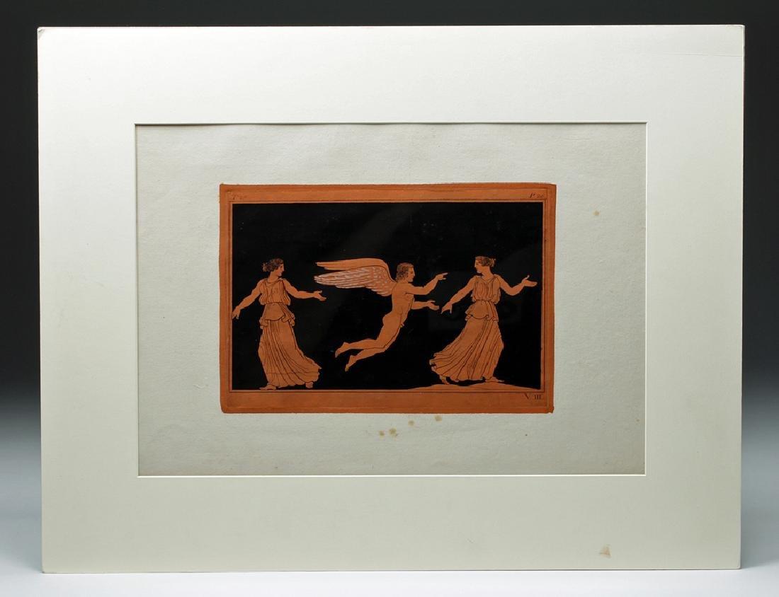 1802 Sir William Hamilton Greek Eros Engraving