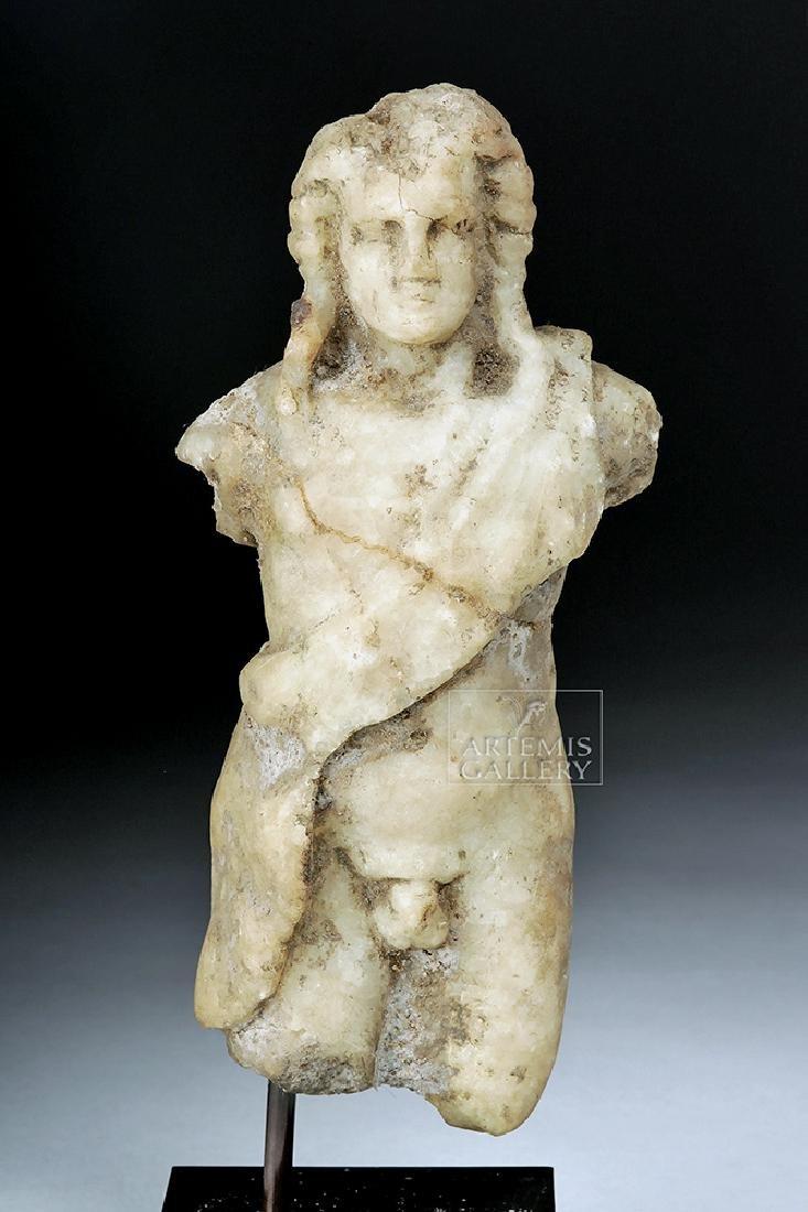 Roman Marble Statuette of Hercules / Herakles