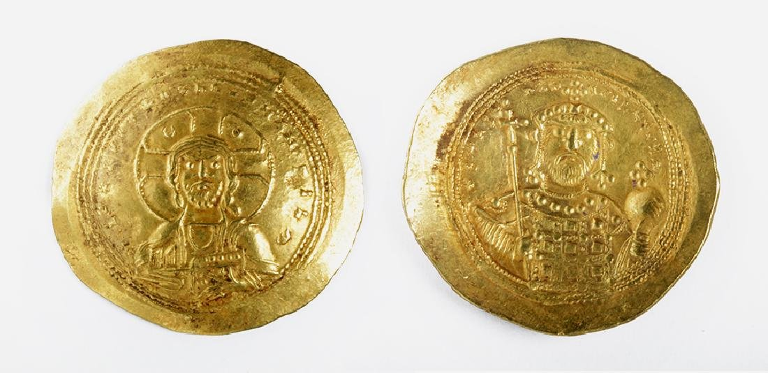Byzantine Gold AU Solidus of Constantine IX - 4.4 g