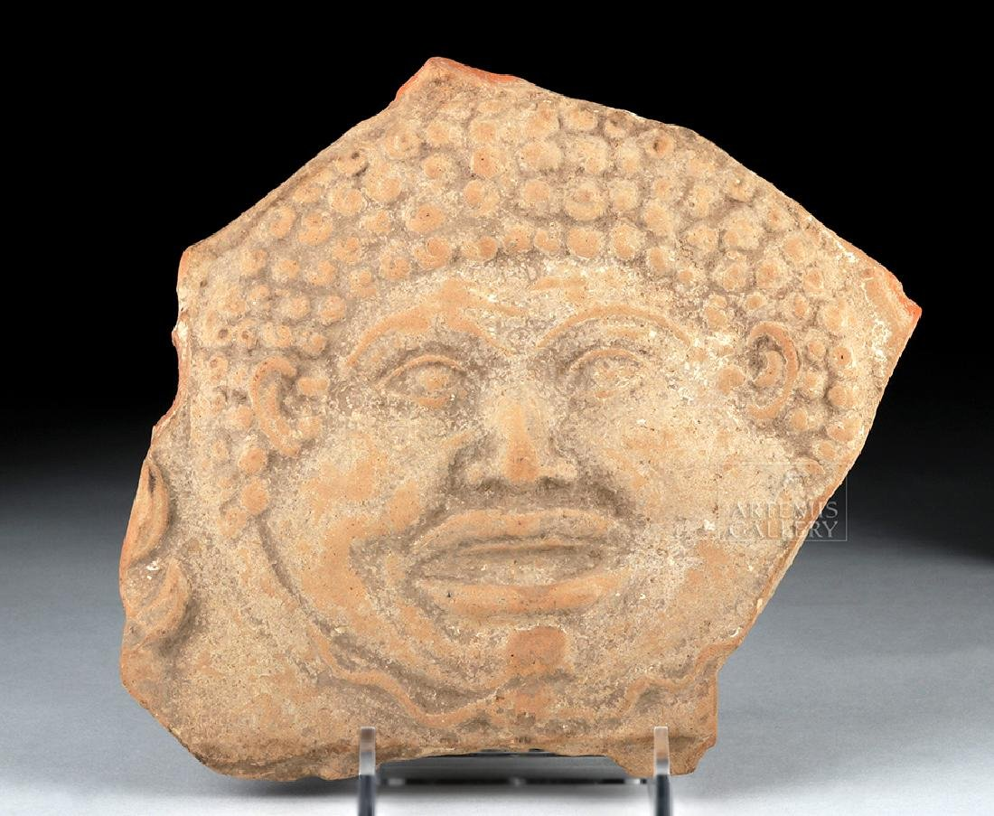 Hellenistic Greek Terracotta Plaque w/ Gorgon