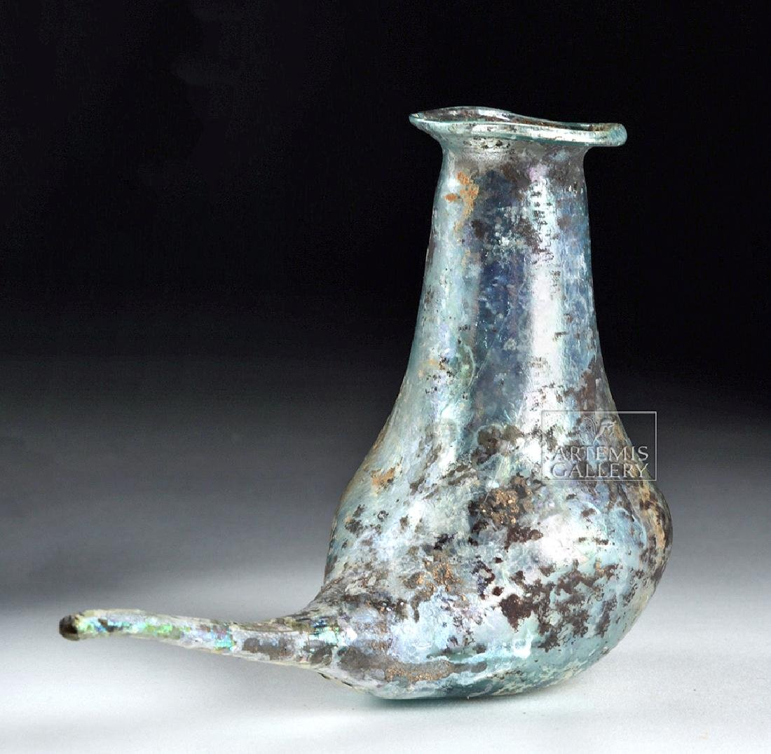 Roman Glass Baby Feeder - Marvelous Iridescence
