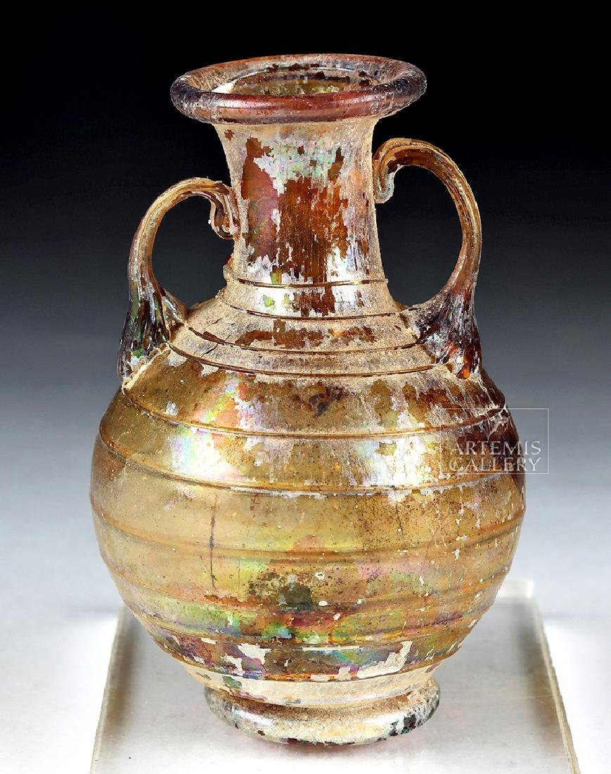 Choice & Lovely Roman Glass Aryballos