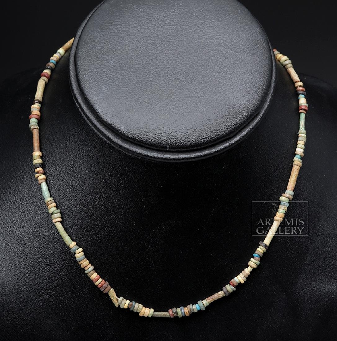 Egyptian Faience Beads Necklace