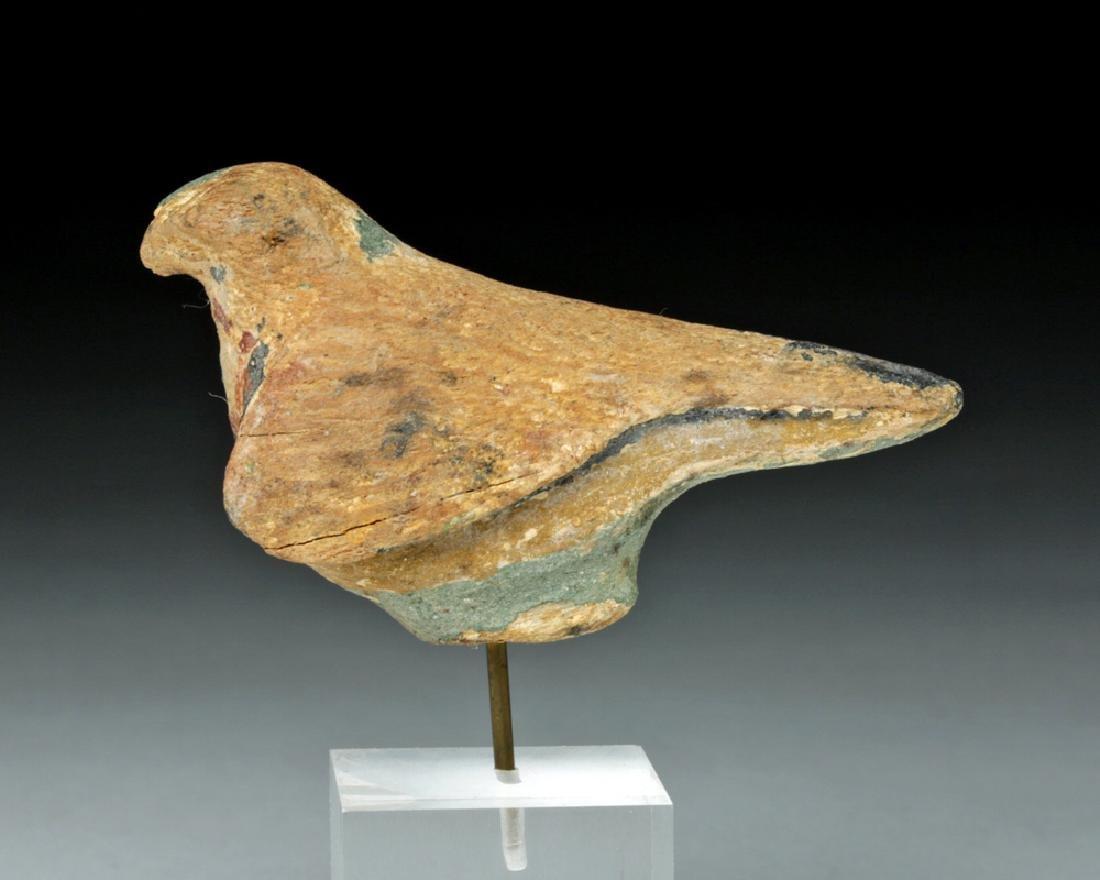 Egyptian Wooden Falcon / Horus
