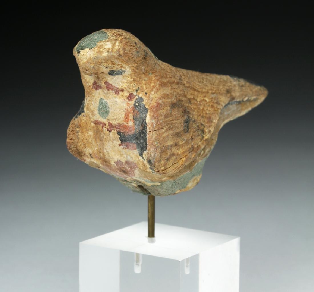Egyptian Wooden Falcon / Horus - 2