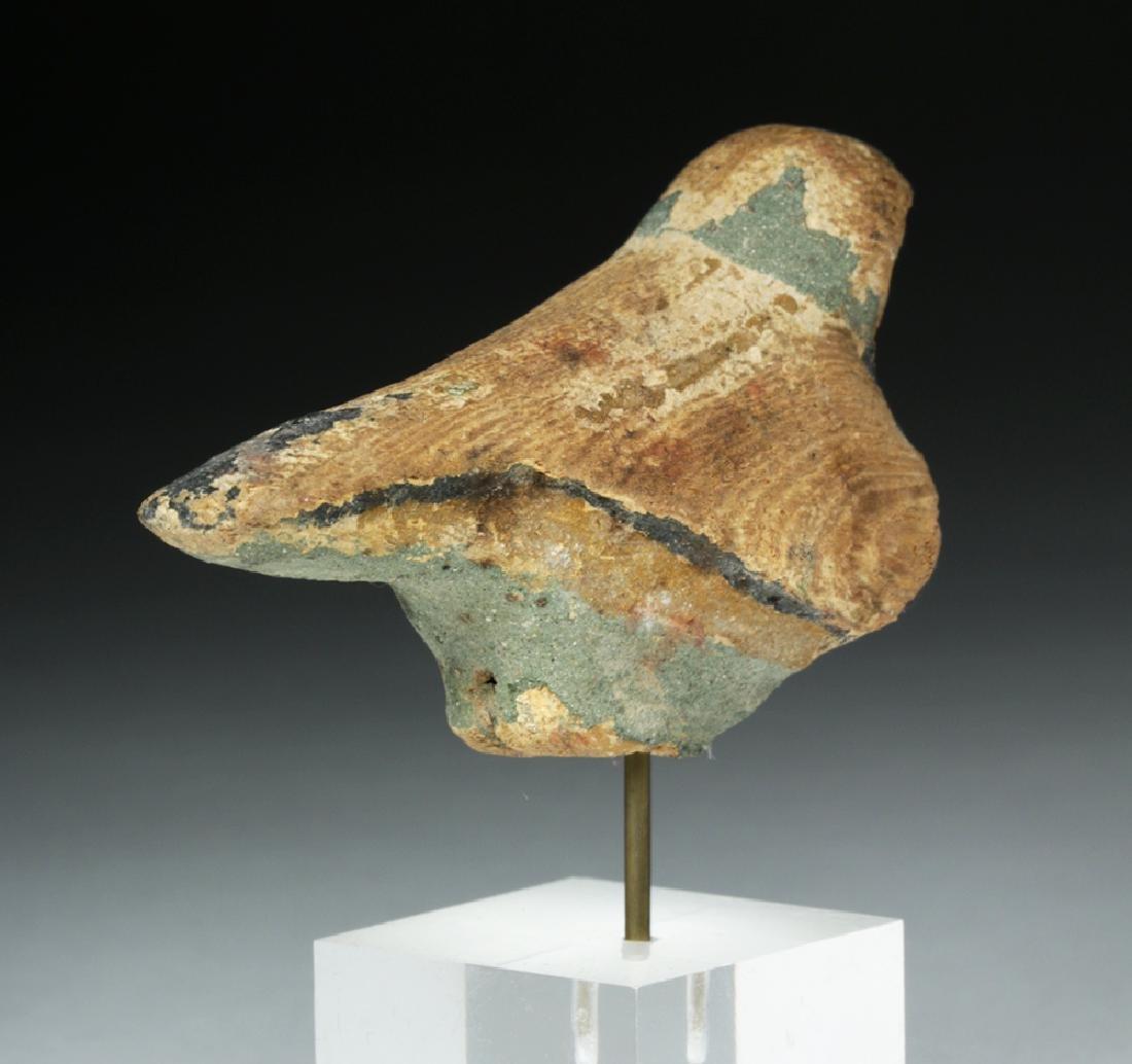 Egyptian Wooden Falcon / Horus - 4