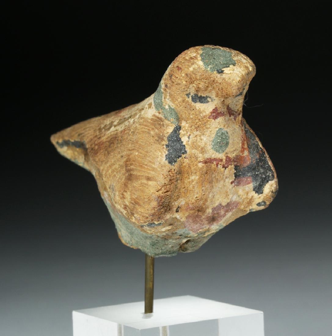 Egyptian Wooden Falcon / Horus - 5
