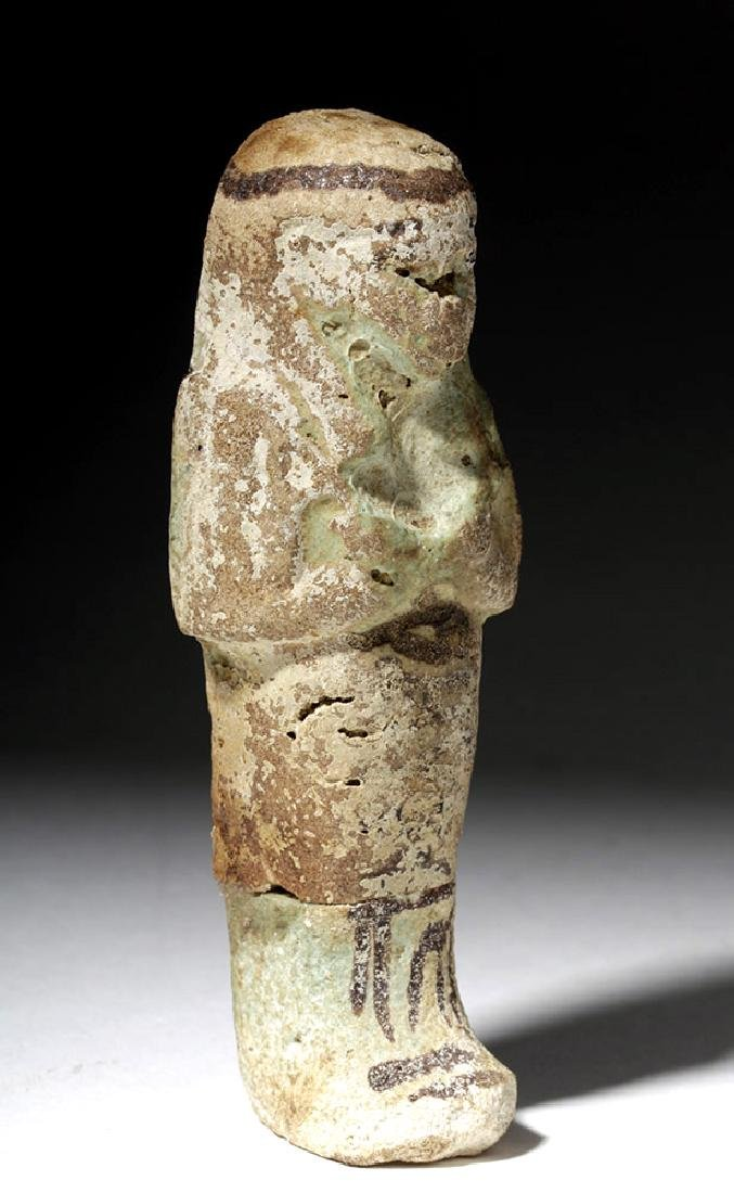 Egyptian Faience Ushabti - Third Intermediate Period