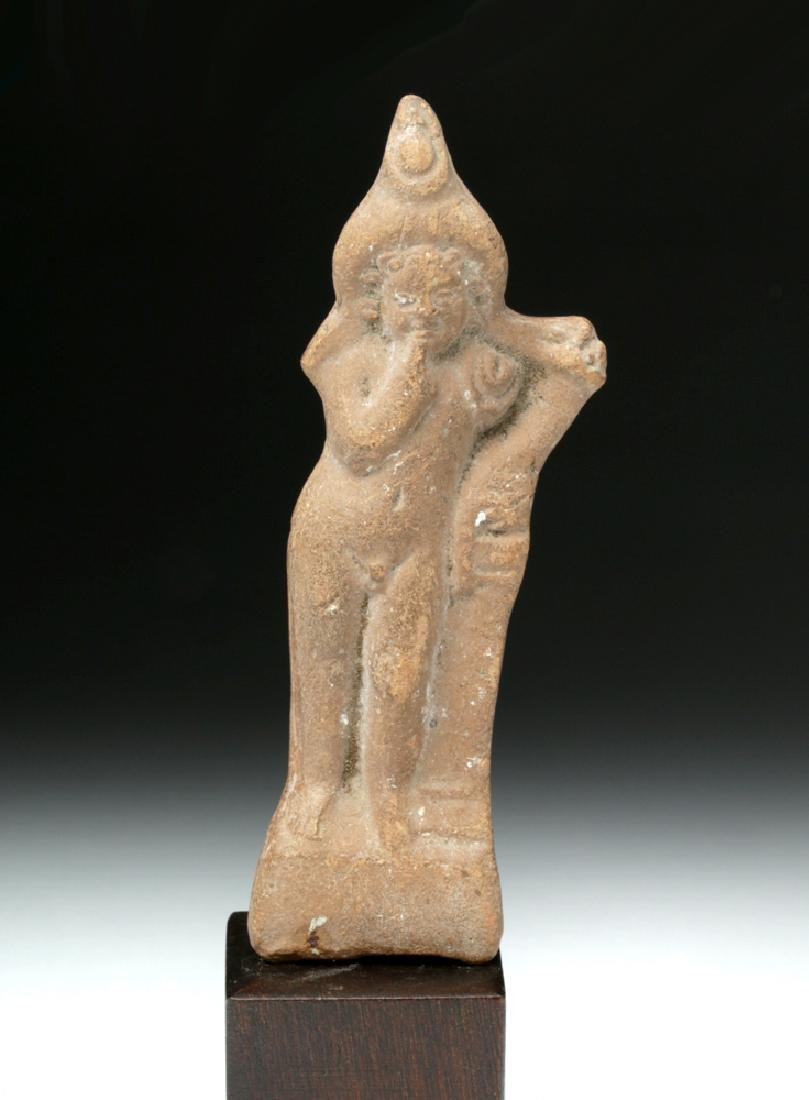 Romano-Egyptian Terracotta Votive - Harpocrates