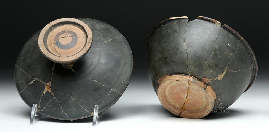 Greek Campanian Blackware Pyxis - 8