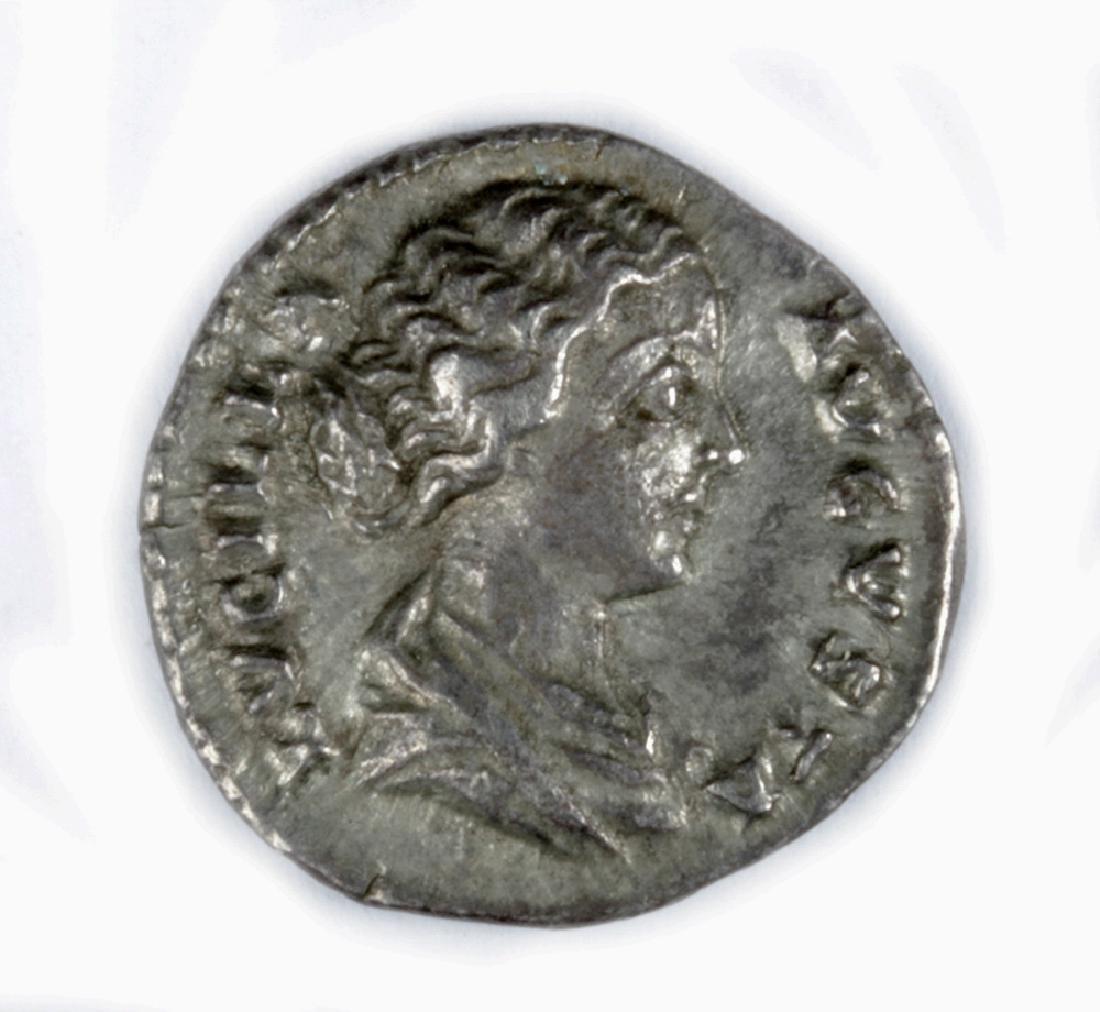 Roman Imperial Silver Denarius of Lucilla - 2