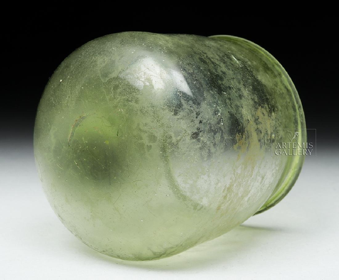 Delicate Roman Glass Jar - 7