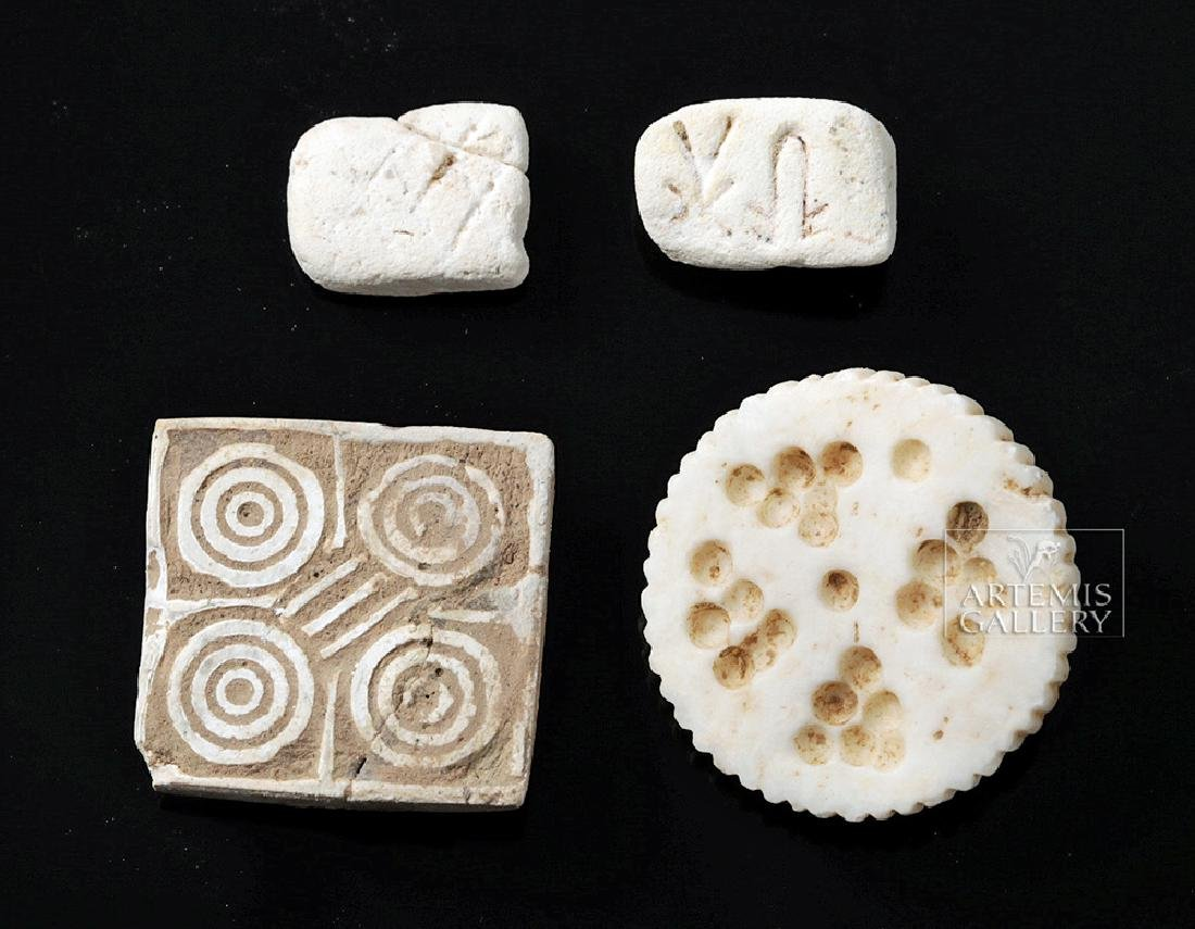 Indus Valley Ceramic & Shell Beads and Seals