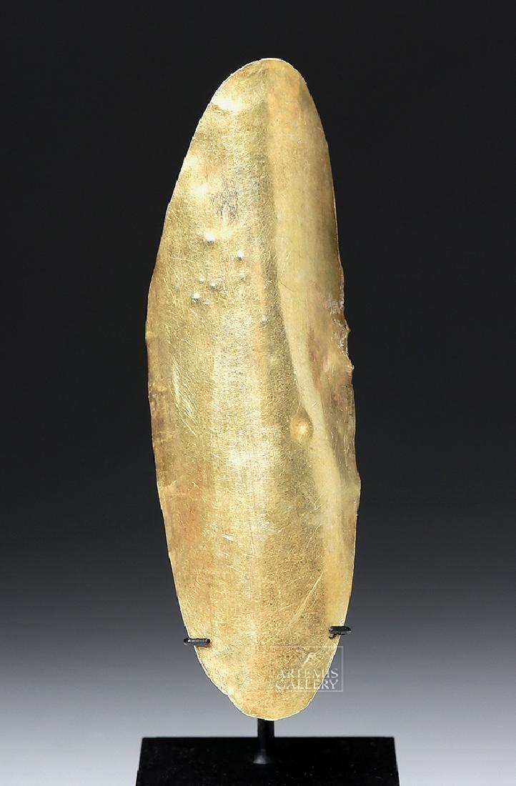 Chavin 14K Gold Finger Ring - 3.8 grams - 2