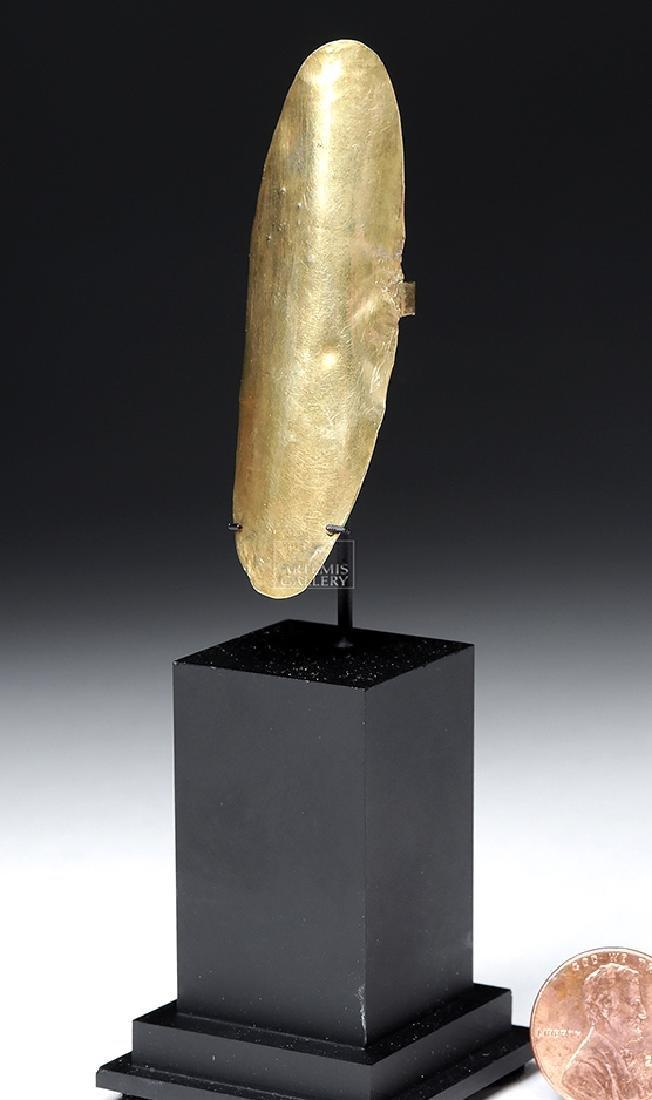 Chavin 14K Gold Finger Ring - 3.8 grams - 6