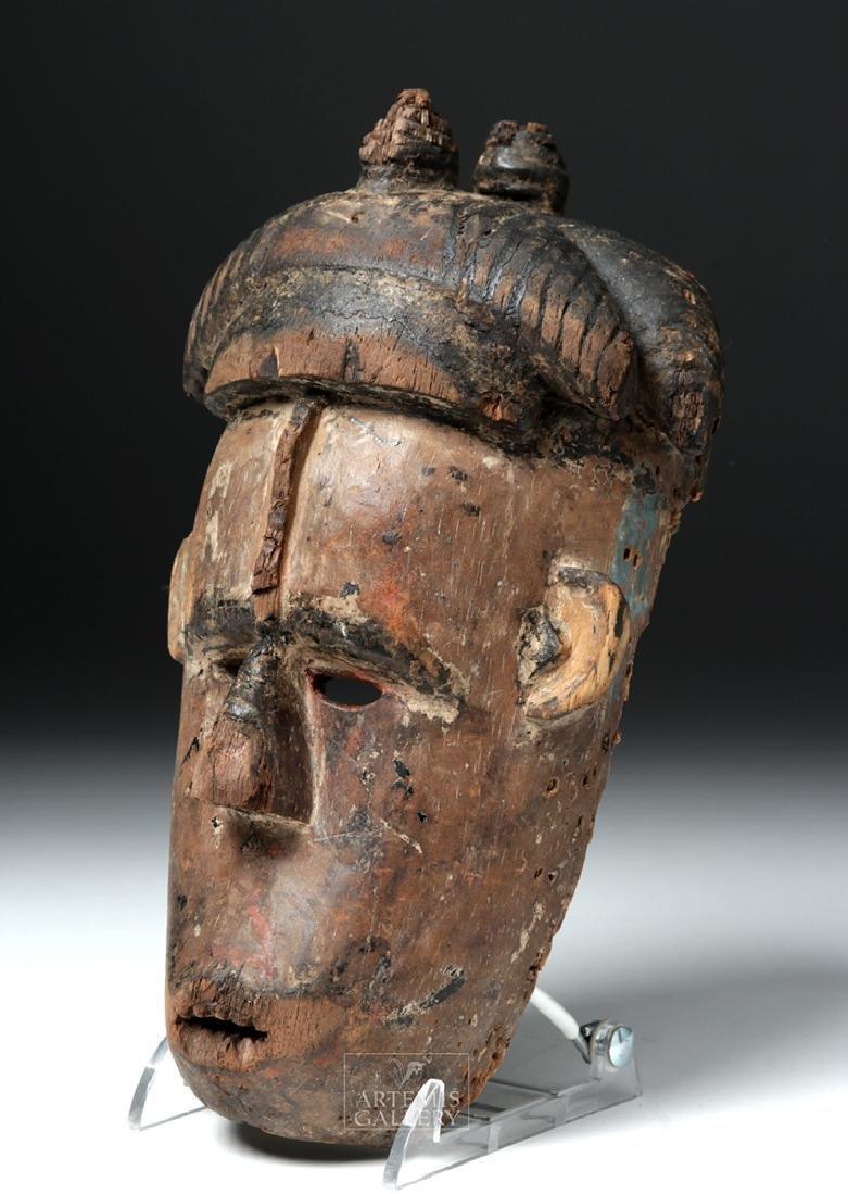 Mid-20th C. African Igbo Wooden Mask - Okoroshi Ojo