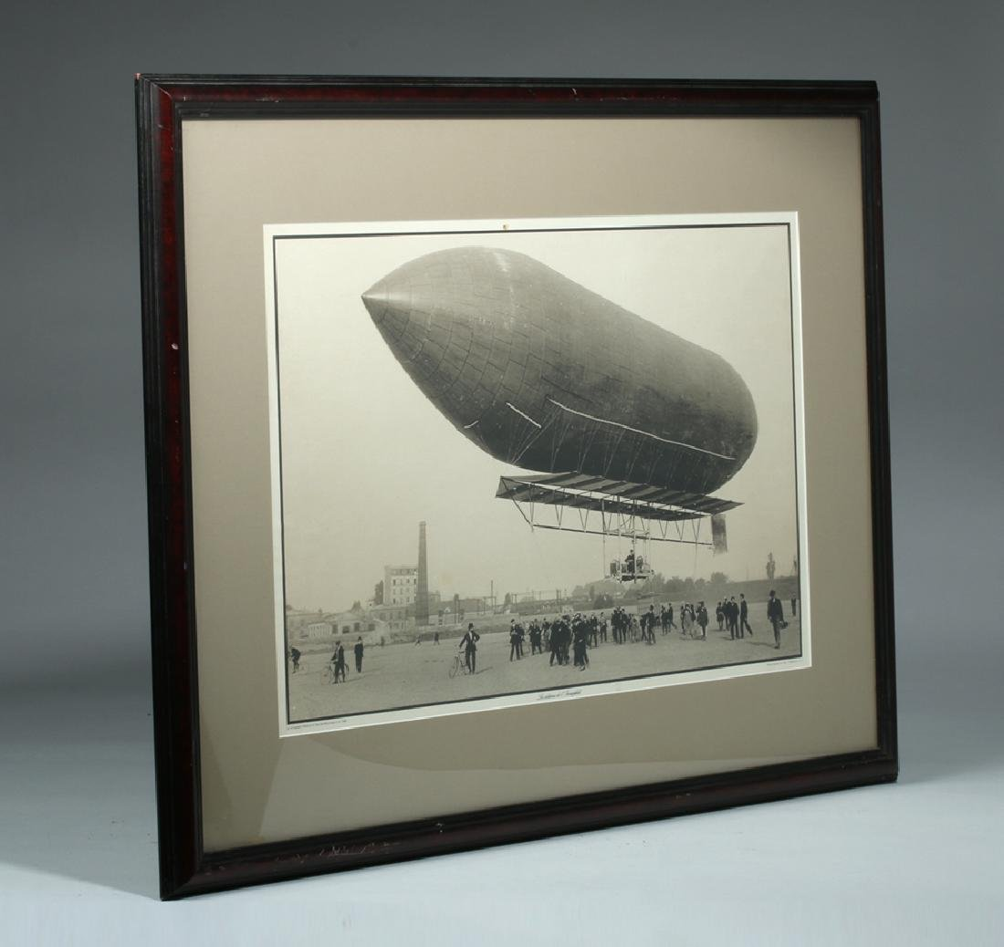 Framed Photograph - Mixed Dirigible Malecot of 1908 - 6