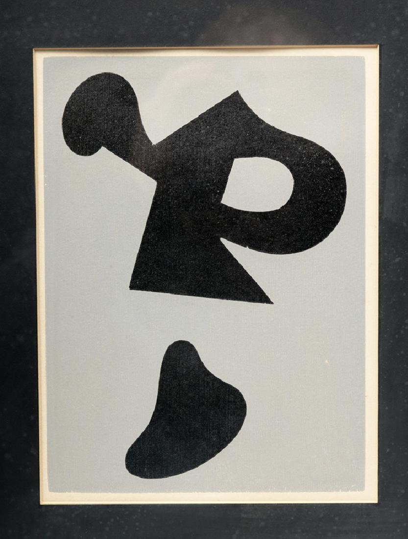 "Jean Arp ""Dreams and Projects"" Original Woodcut, 1951 - 2"
