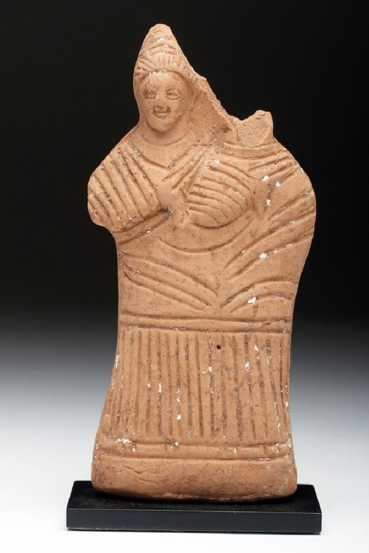 Egyptian Terracotta Harpocrates Figure