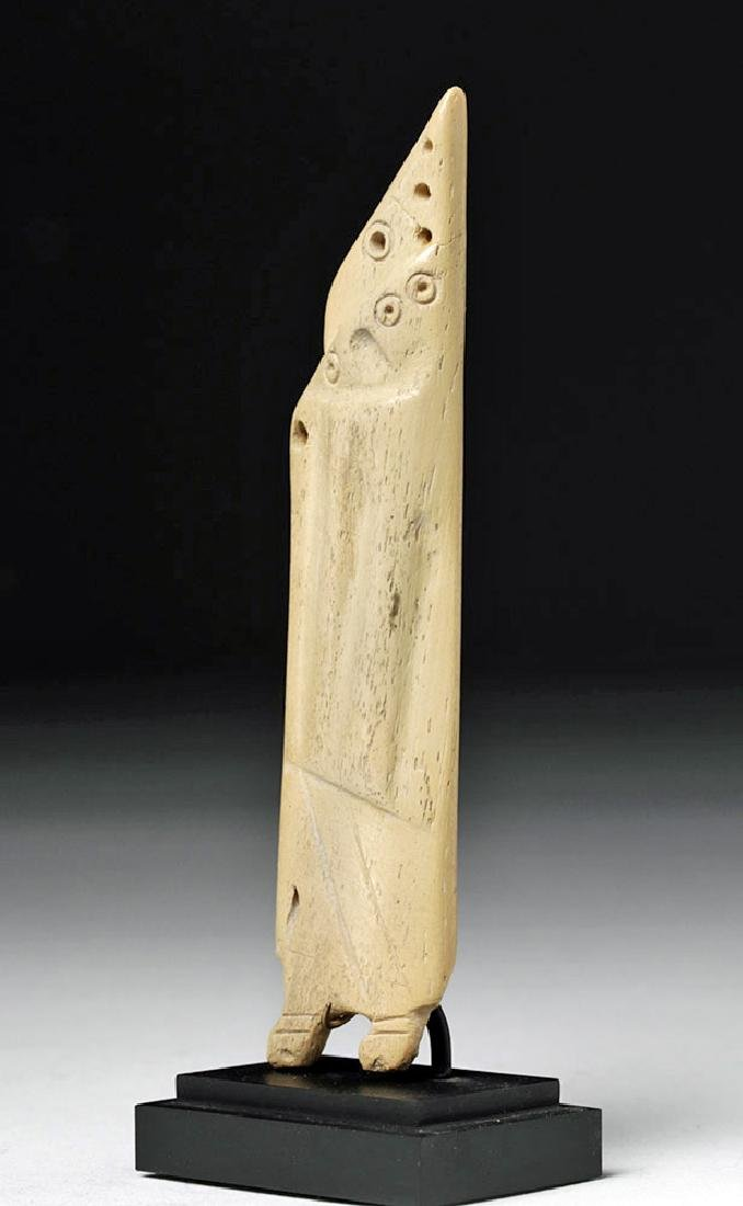 Egyptian Coptic Bone Idol - Anthropomorphic