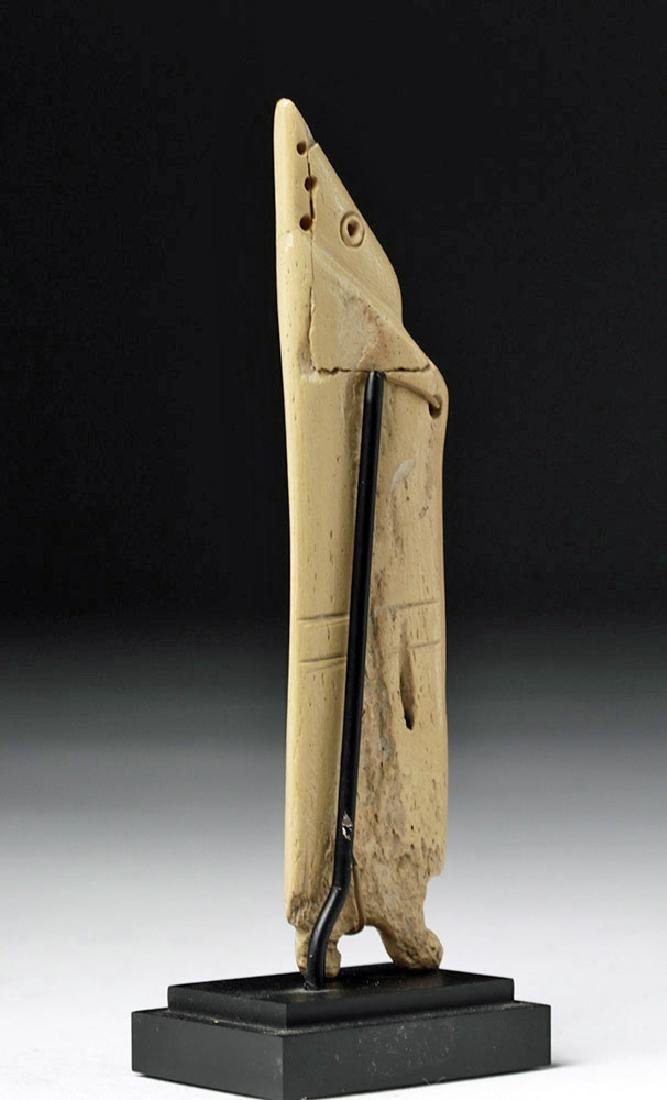 Egyptian Coptic Bone Idol - Anthropomorphic - 2
