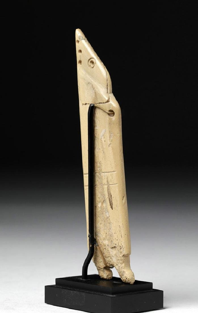 Egyptian Coptic Bone Idol - Anthropomorphic - 3