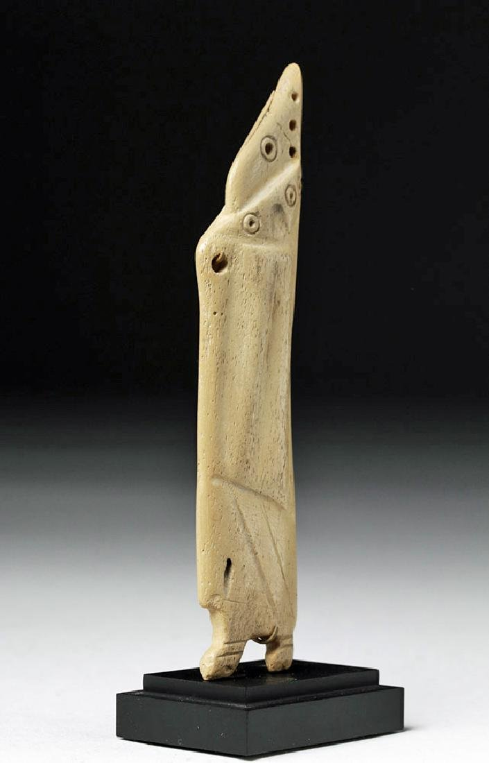 Egyptian Coptic Bone Idol - Anthropomorphic - 4