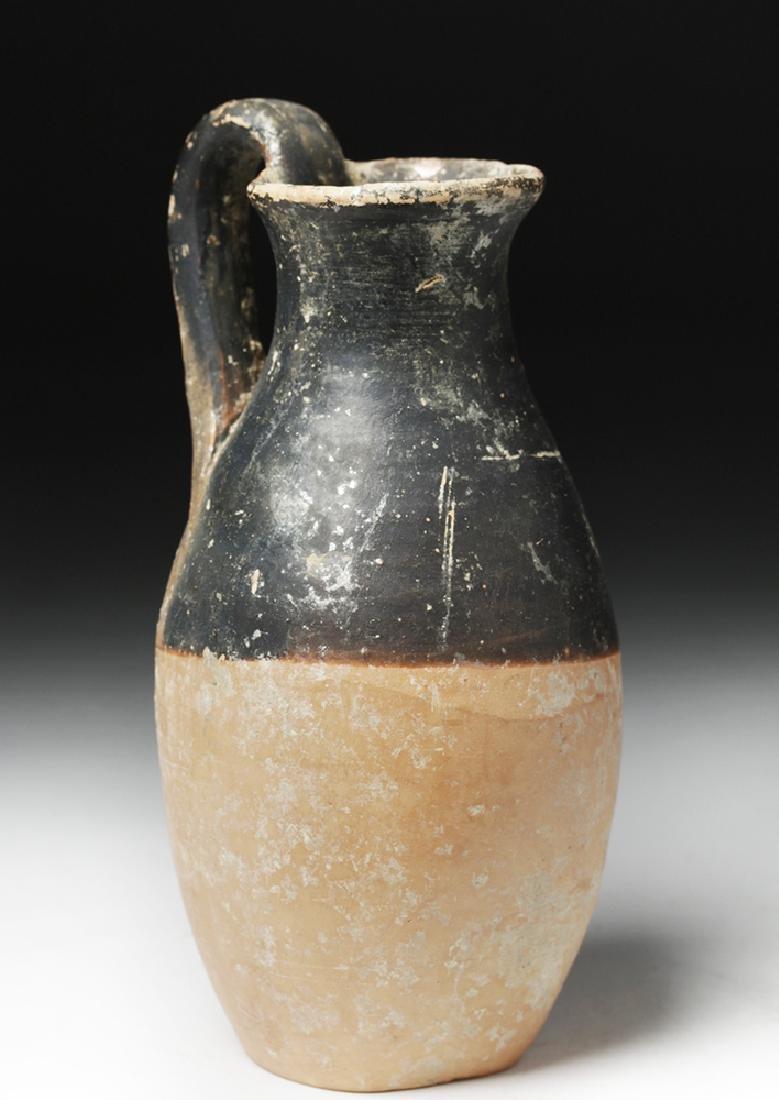 Ionian Greek Bichrome Terracotta Olpe