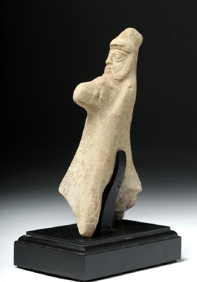 Syro-Hittite Terracotta Horse and Rider - 4