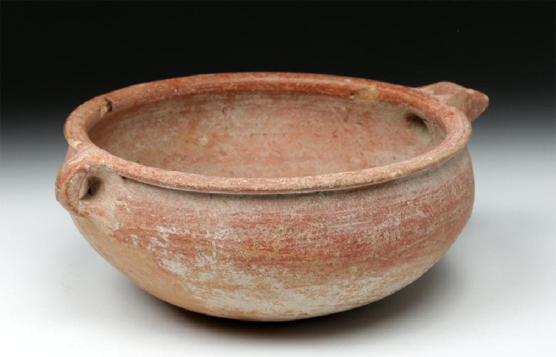 Holy Land / Cypriot Bichrome Libation Bowl