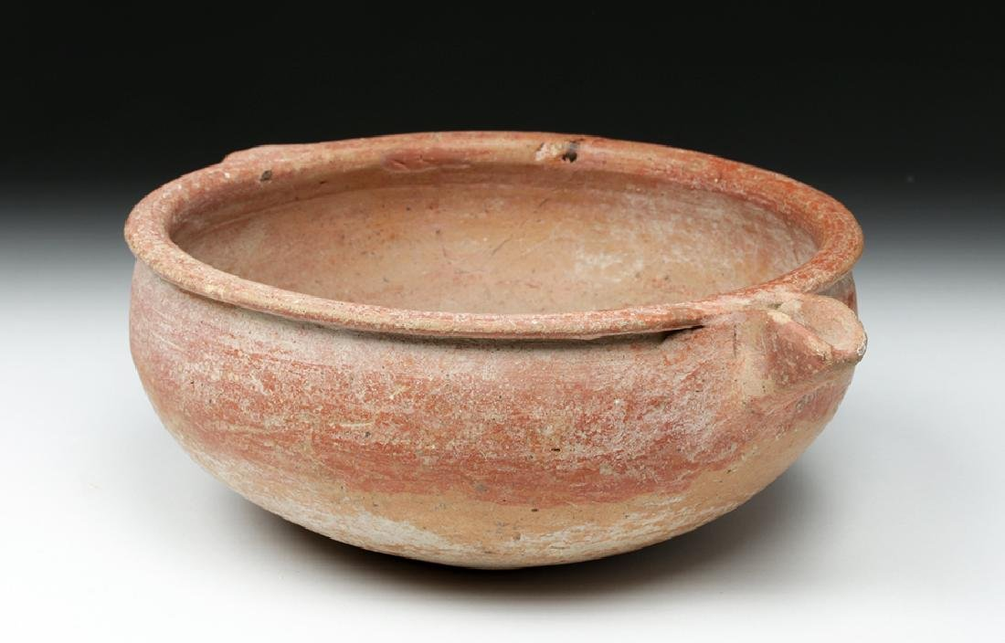 Holy Land / Cypriot Bichrome Libation Bowl - 2