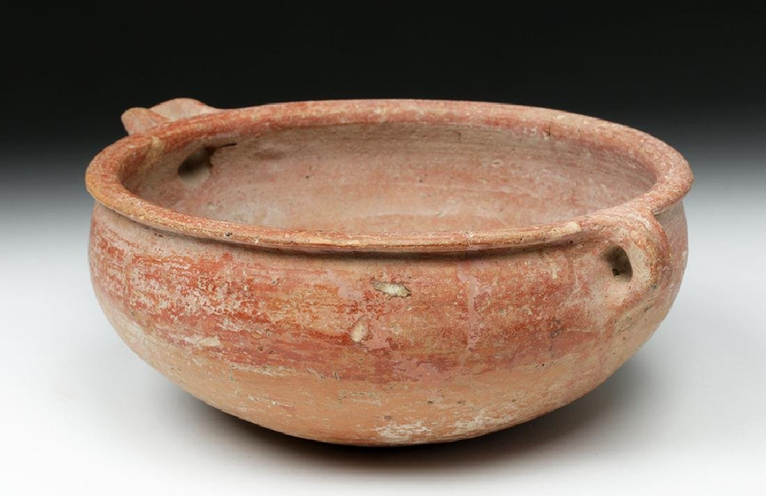 Holy Land / Cypriot Bichrome Libation Bowl - 4