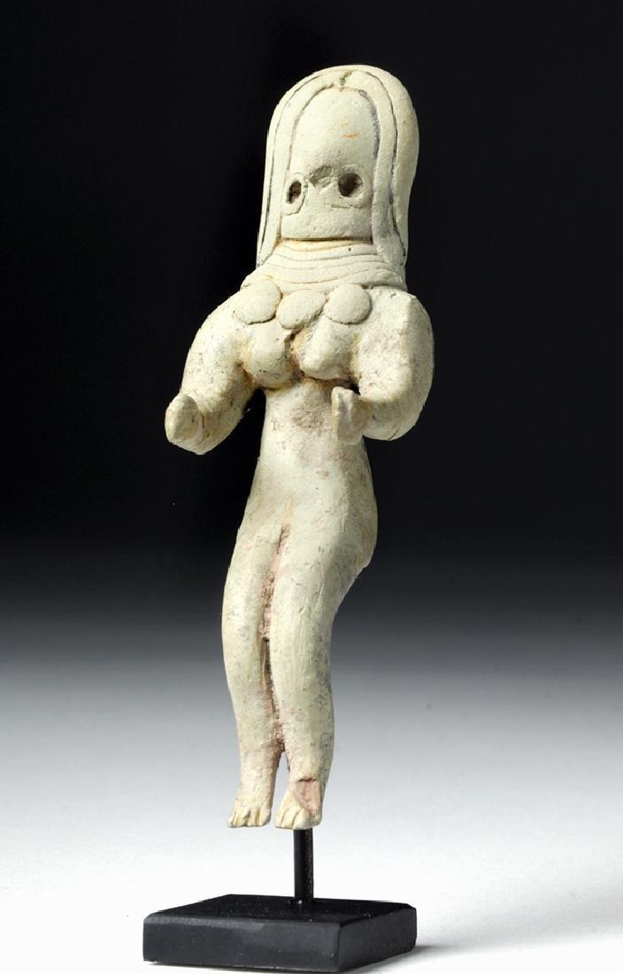 Indus Valley Pottery Fertility Figure - Fancy Pectoral