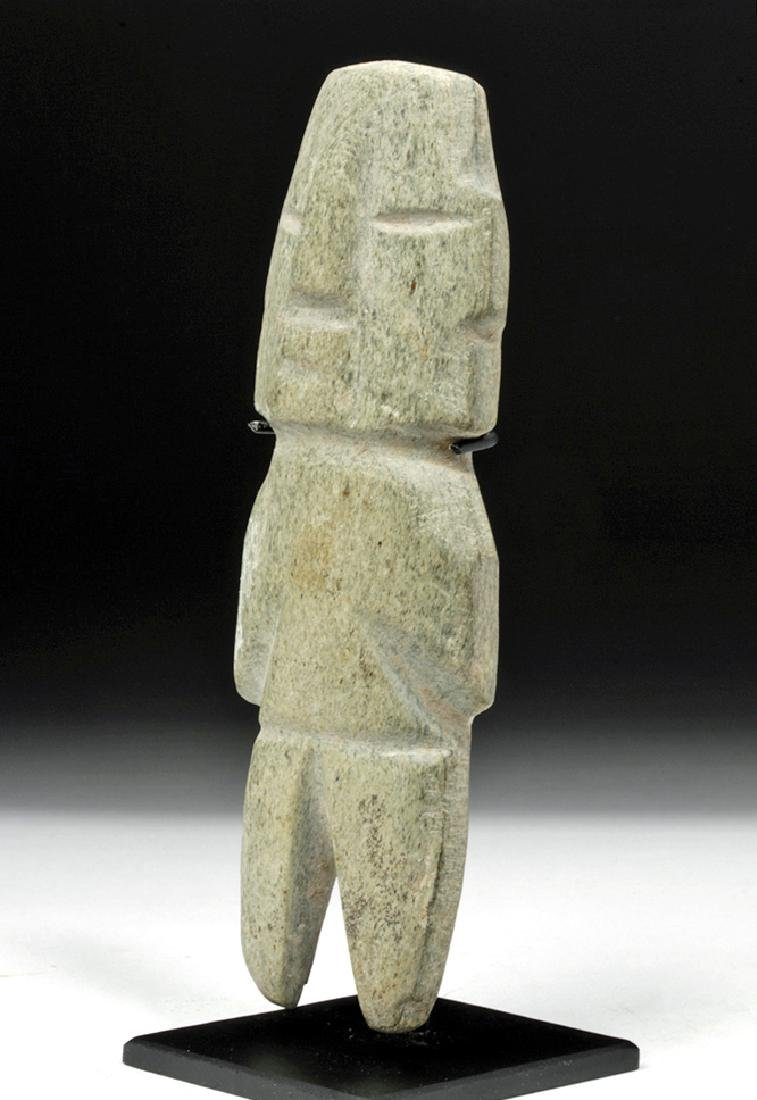 Guerrero / Chontal Green Stone Axe God - 2