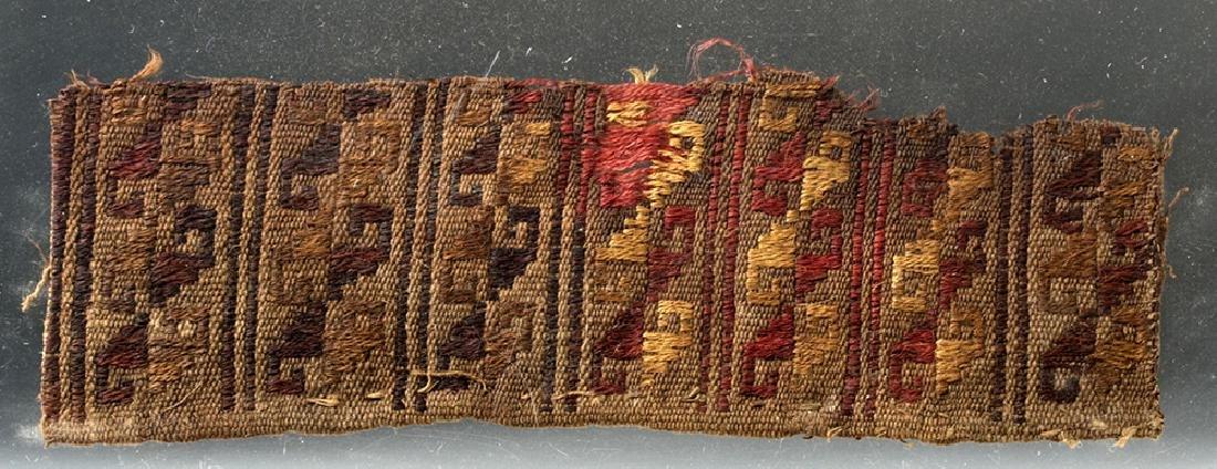 Pre-Columbian Peruvian Chancay Textile Panel
