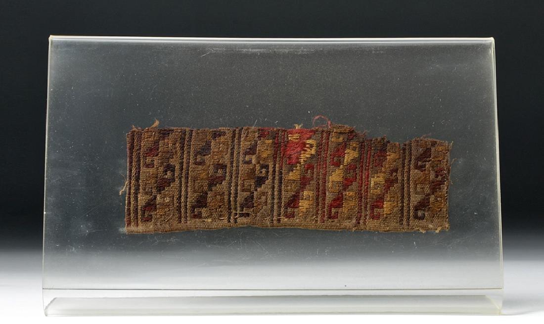 Pre-Columbian Peruvian Chancay Textile Panel - 2