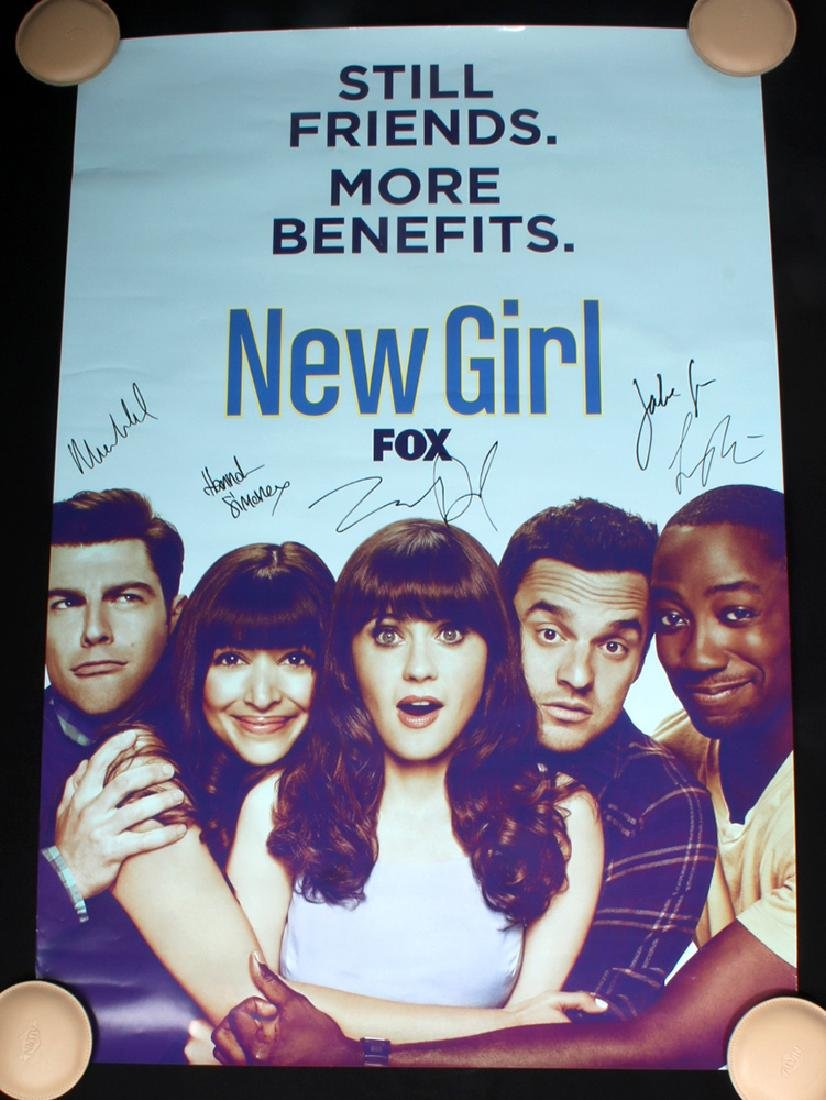New Girl Poster - Signed By Entire Cast in 2016