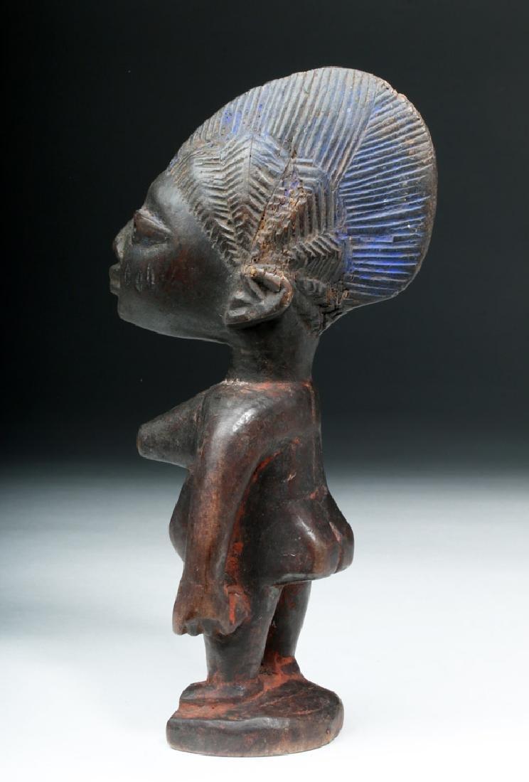 African Yoruba Ere-Ibeji Wooden Female Figure
