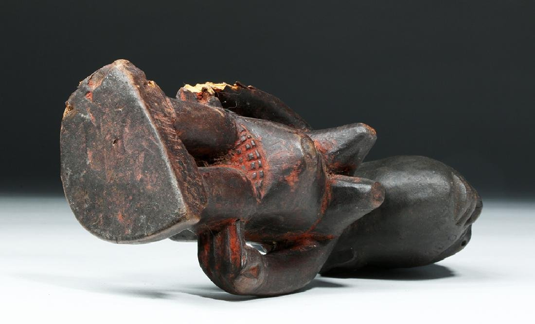 African Yoruba Ere-Ibeji Wooden Female Figure - 7