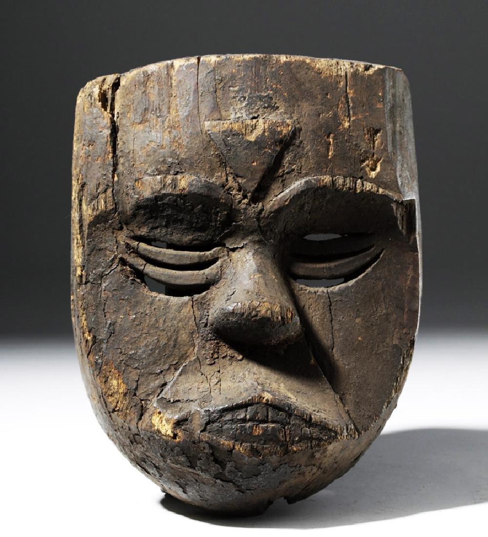 African Ibibio / Eket Carved Wood Mask