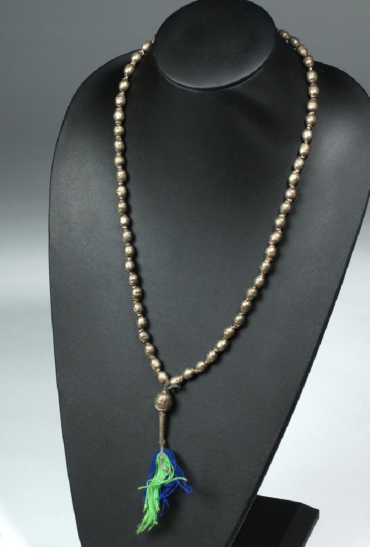 3 Strands Venice Trade Beads & Ethiopia Prayer Beads - 3