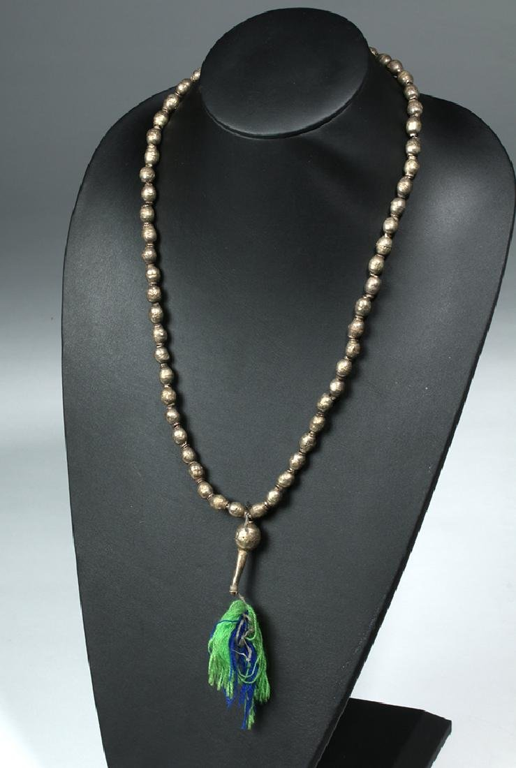 3 Strands Venice Trade Beads & Ethiopia Prayer Beads - 4