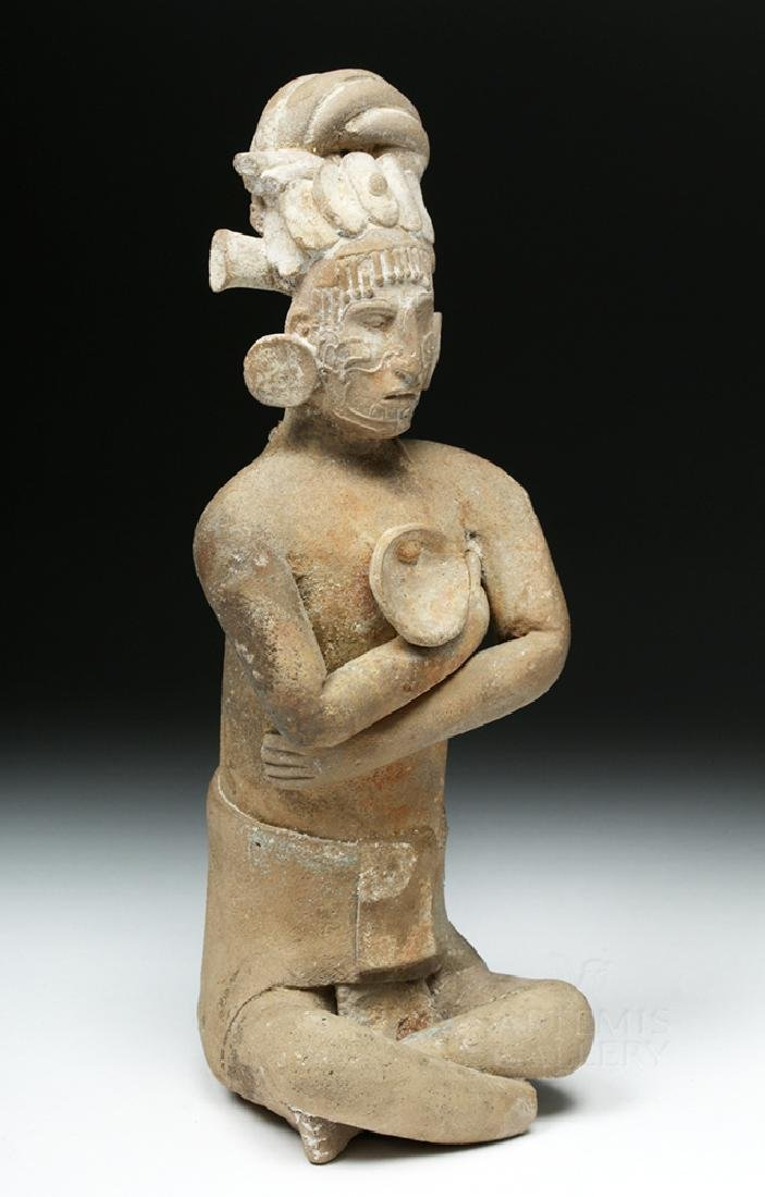 Mayan Jaina Terracotta Seated Lord - TL Tested - 6