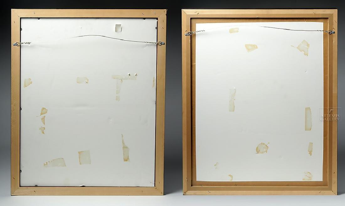 Perez Frelero Framed Mixed Media Works, 2002 (pr) - 4