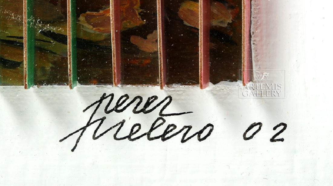 Perez Frelero Framed Mixed Media Works, 2002 (pr) - 5