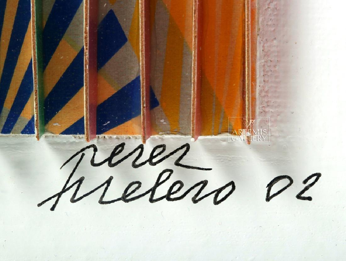 Perez Frelero Framed Mixed Media Works, 2002 (pr) - 6