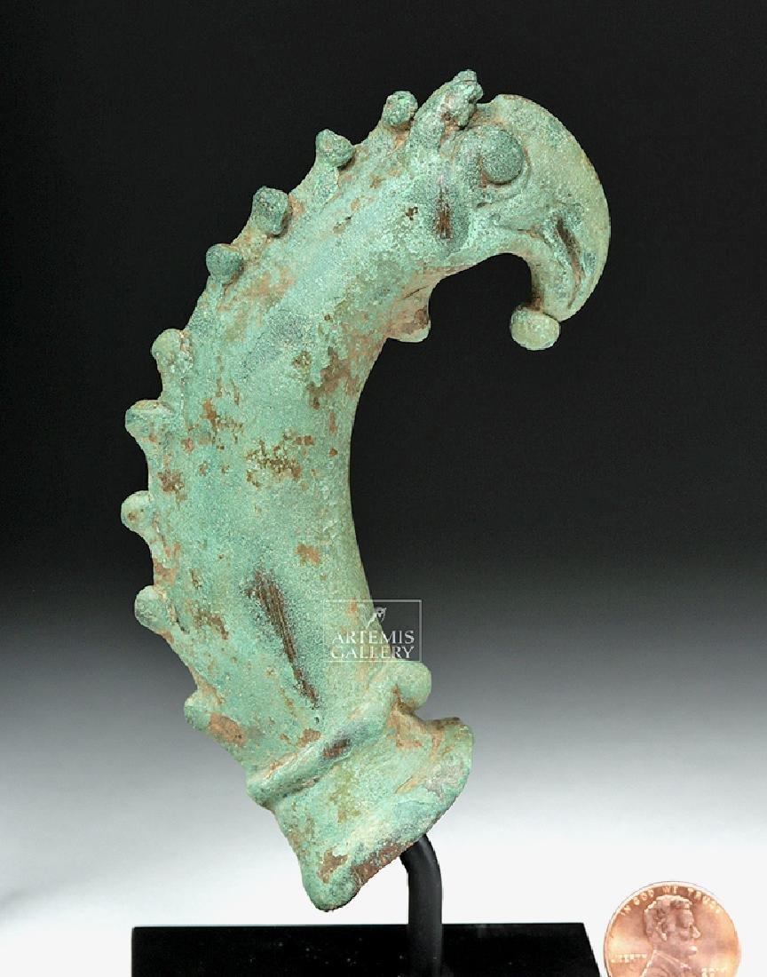 Roman Bronze Cetus (Sea Monster) Handle - 6