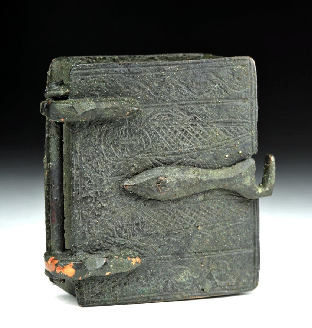 Rare Sassanian Bronze Casket