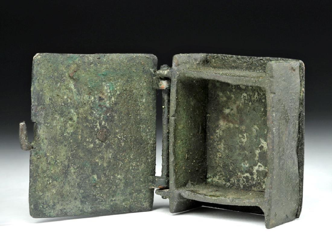 Rare Sassanian Bronze Casket - 3